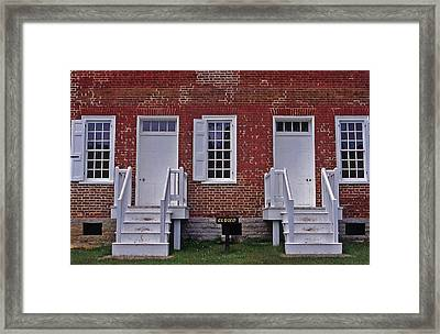 Natchez Trace Gordon House - 1 Framed Print by Randy Muir