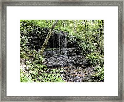 Natchez Trace Waterfall Framed Print