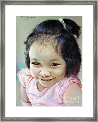 Nathakamon Phanwichien Framed Print