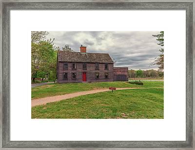 Nathan Meriam House Framed Print