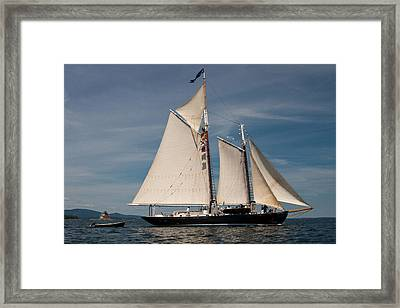Nathaniel Bowditch 1 Framed Print by Brent L Ander
