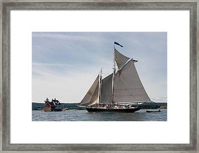 Nathaniel Bowditch 4 Framed Print by Brent L Ander