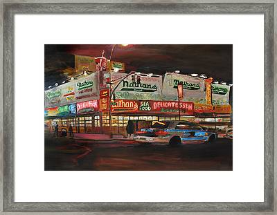 Nathan's Framed Print by Wayne Pearce