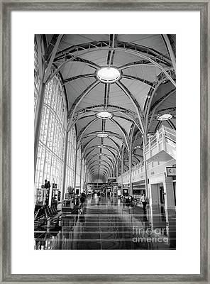 National Airport D C A Framed Print