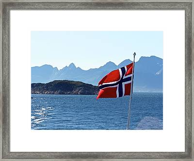 National Day Of Norway In May Framed Print by Tamara Sushko