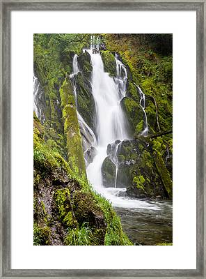 National Falls 1 Framed Print by Greg Nyquist
