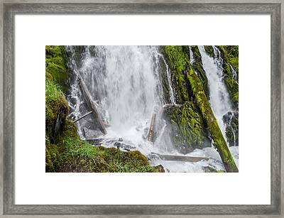 National Falls 2 Framed Print by Greg Nyquist
