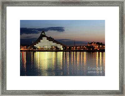 National Library Of Latvia Framed Print