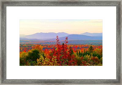 National Scenic Byway Framed Print
