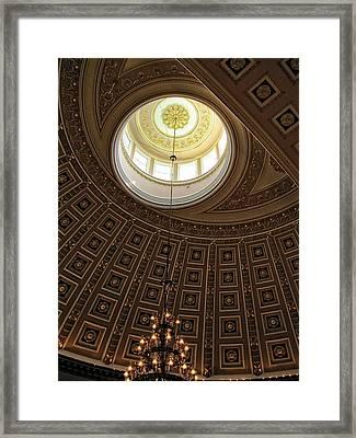 National Statuary Hall Ceiling Framed Print