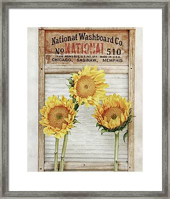 National Washboard Framed Print