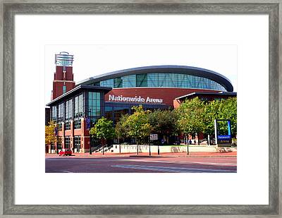 Nationwide Arena Framed Print