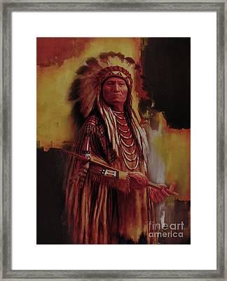 Native America 01a Framed Print