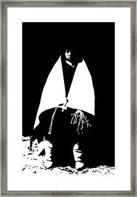 Native American 18 Curtis Framed Print