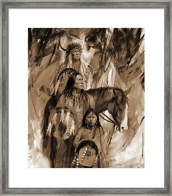 Native American 456p Framed Print