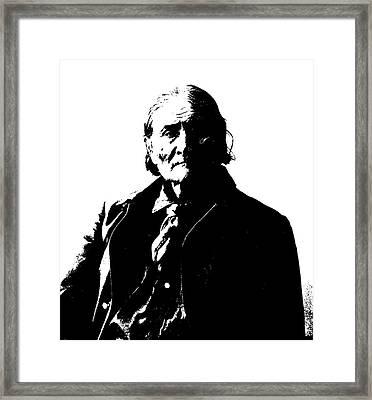 Native American 5 Curtis Framed Print