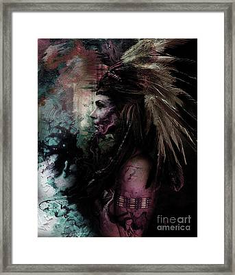 Native American Fathers Framed Print