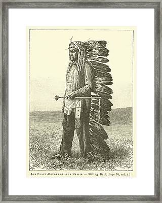 Native American Framed Print
