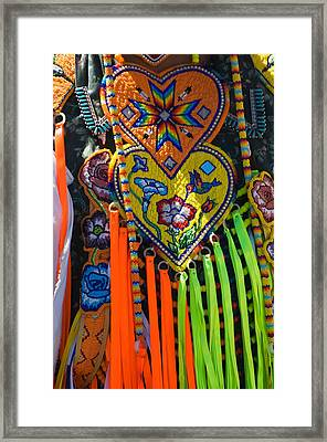 Native American Indian Ceremonial Framed Print
