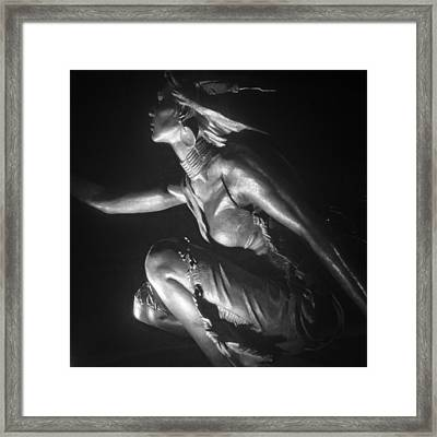Native American Night Framed Print