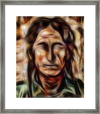 Native Nightwalker Framed Print by Brian King