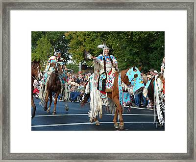 Native American Princess Framed Print