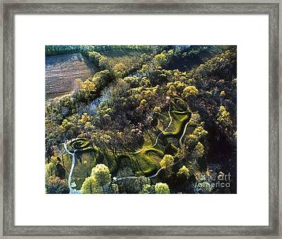 Native American Serpent Mound Ohio Photograph By Granger
