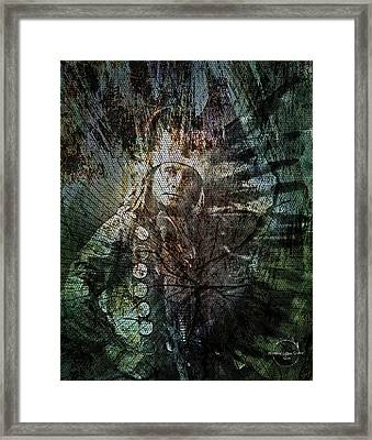 Native American - Sioux Chief Little Horse Framed Print