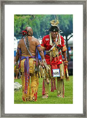 Native Americans Framed Print