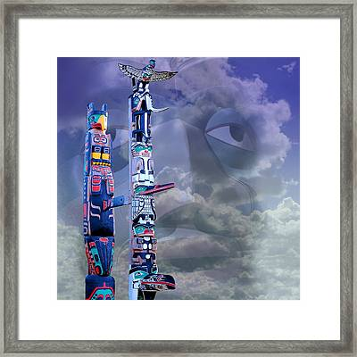 Native Ghosts Framed Print by Jeff Burgess