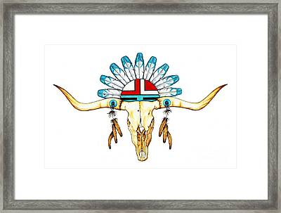 Native Guide Framed Print