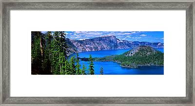 Native Heart Framed Print