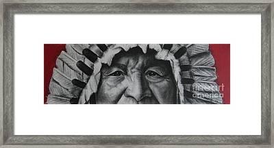 native Indian Framed Print by Anastasis  Anastasi