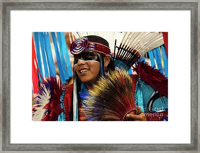 Native Pride 16 Framed Print