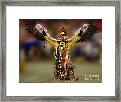 Into The Dreamtime 2 Framed Print by Bob Christopher