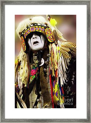 Into The Dreamtime 3 Framed Print by Bob Christopher