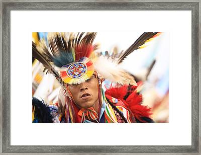 Framed Print featuring the photograph Native Pride by Kate Purdy
