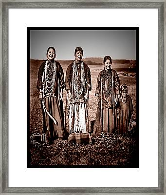 Native Pride Framed Print