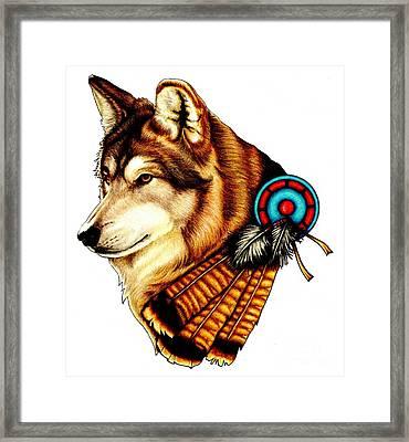 Native Spirit Framed Print