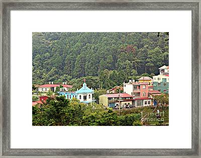 Framed Print featuring the photograph Native Village In Taiwan by Yali Shi