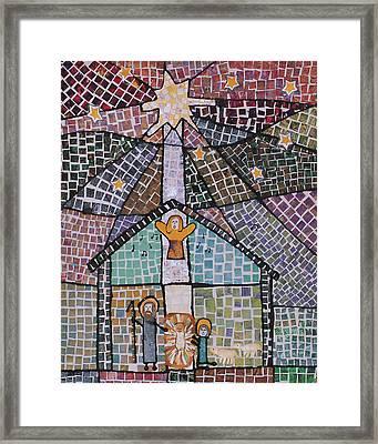 Nativity 1 Framed Print