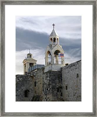 Nativity Church 2011 Framed Print by Munir Alawi