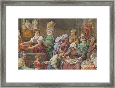 Nativity Of The Blessed Virgin Mary Framed Print