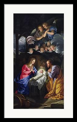 Seraphim Angel Paintings Framed Prints