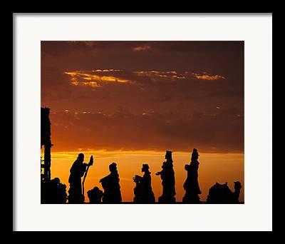 Nativity Photographs Framed Prints