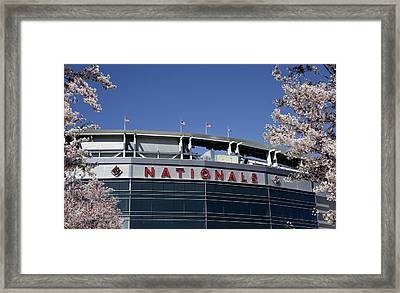 Nats Park - Washington Dc Framed Print by Brendan Reals