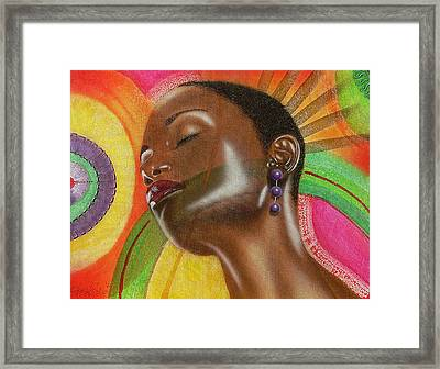 Natural 1 Framed Print by Fred Odle