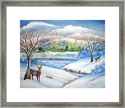 Natural Beauty Framed Print by Luis F Rodriguez