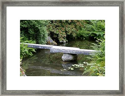 Natural Bridge Framed Print by Sonja Anderson