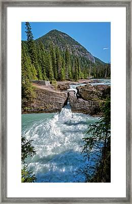 Natural Bridge Yoho National Park Canada Framed Print